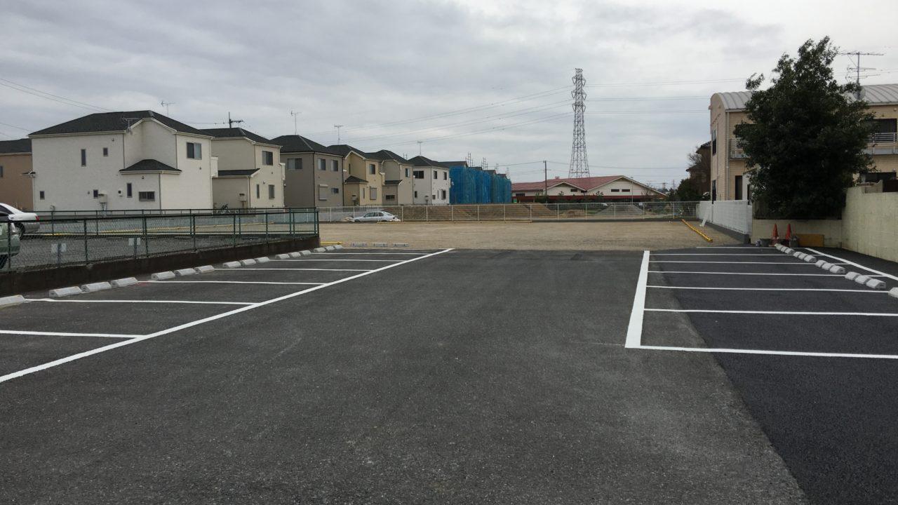 小倉台福田医院駐車場