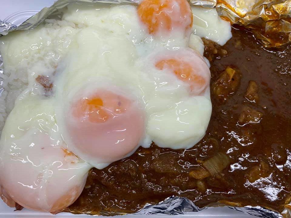 温泉卵とゆで卵