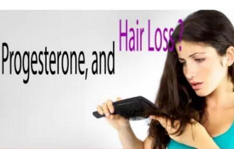 プロゲステロンと抜け毛